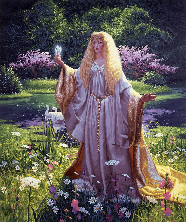The Ring of Galadriel - Franklin Mint - Giclee Comic Art