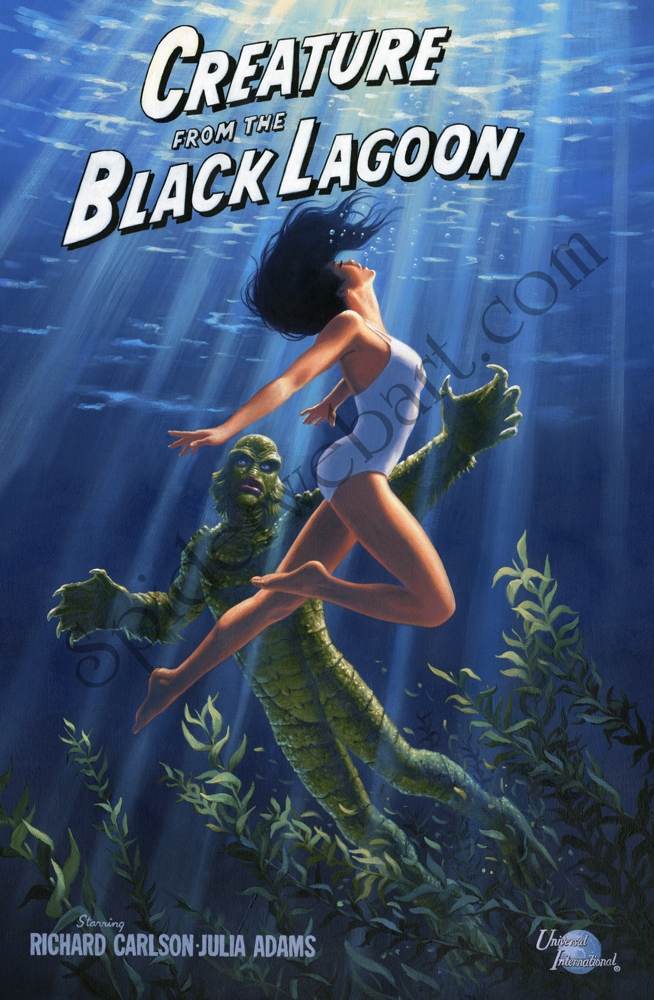 The Creature from the Black Lagoon - What If? Comic Art