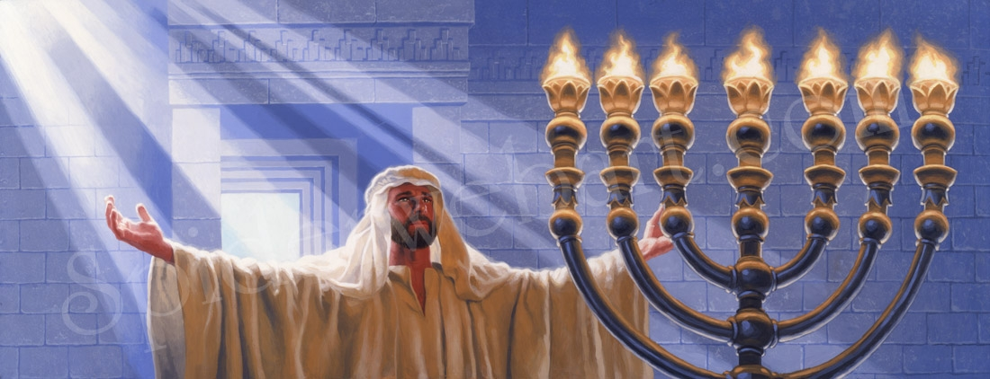 Treasures of Chanukah: Miracle of the Holy Lamps Comic Art