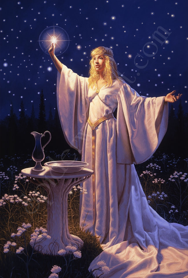 The Ring of Galadriel - Giclee Comic Art