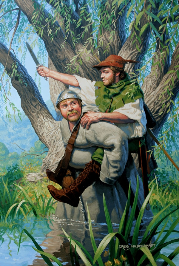Robin Hood: Our Duty to Help Each Other Comic Art