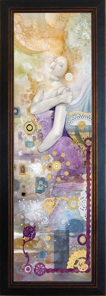 SUBSTANCE (body)- Beautiful Framed Giclee on canvas Comic Art