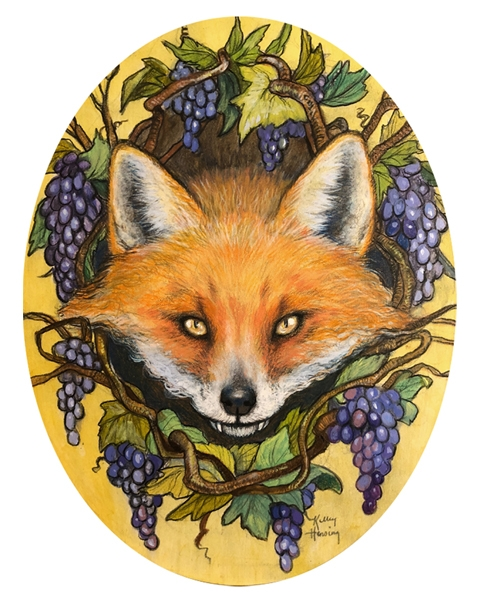 The Fox and the Grapes, Print Comic Art