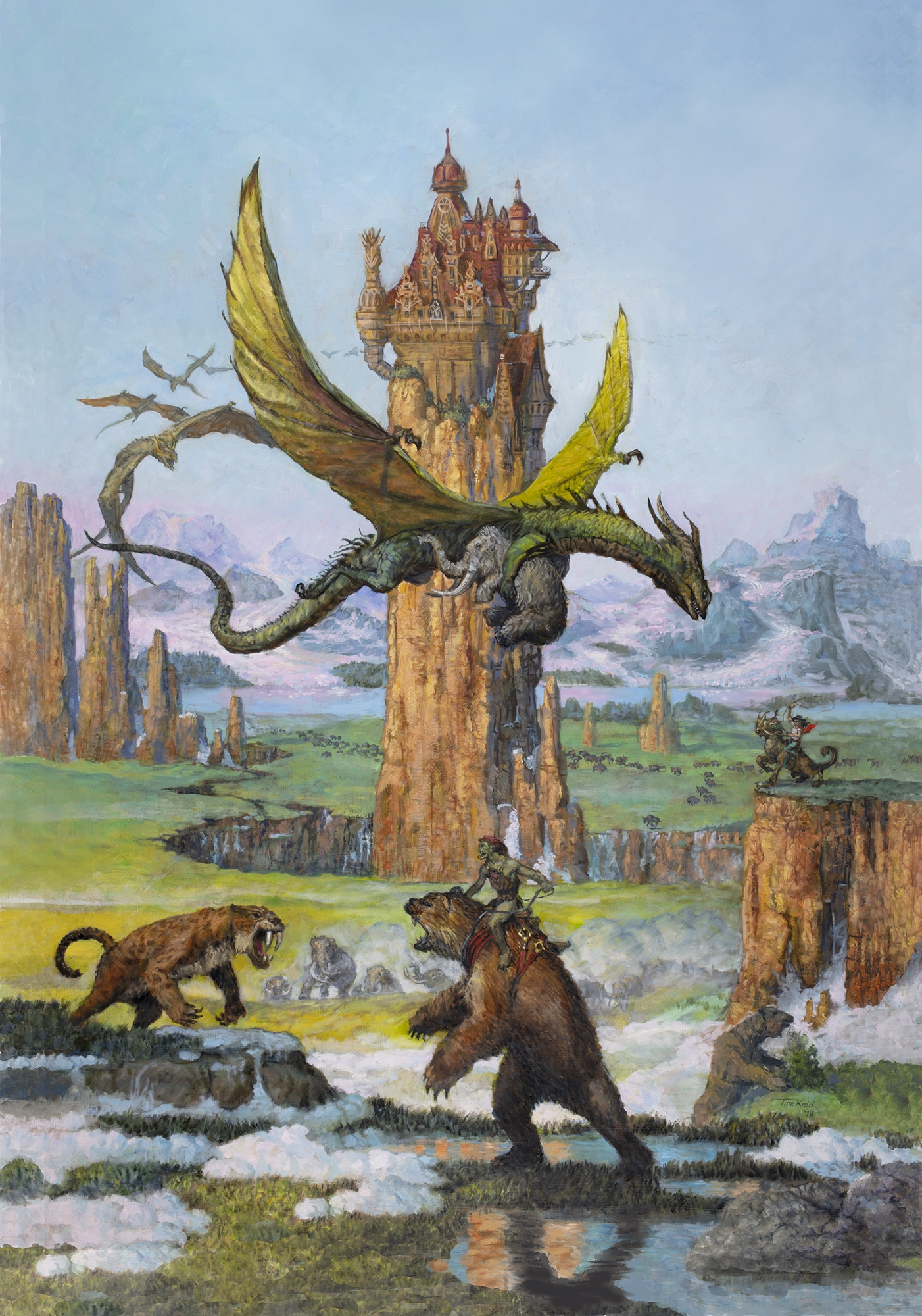 Magic of the Ice Age Comic Art