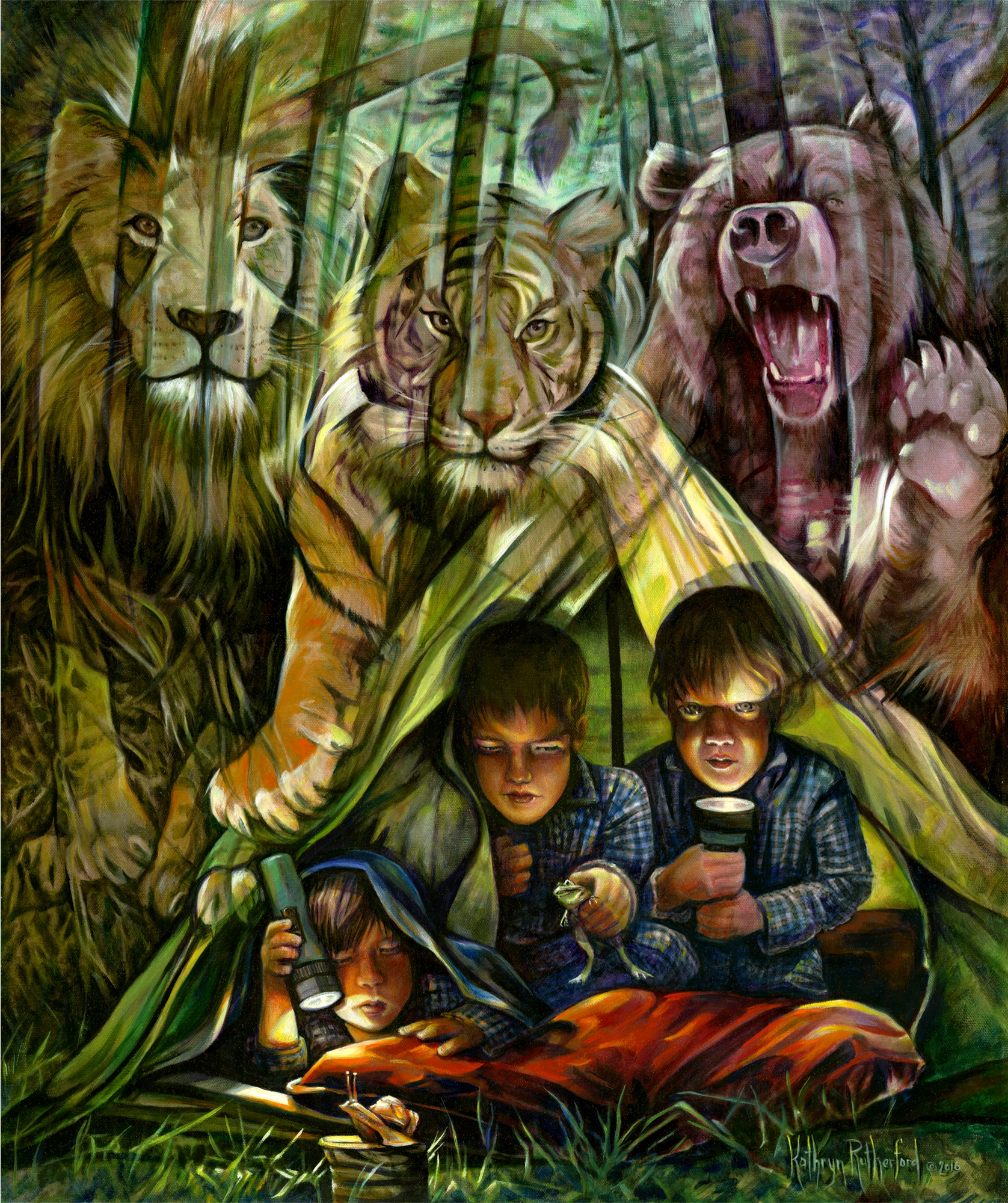 Lions, Tigers And Bears--Oh, My!! Comic Art