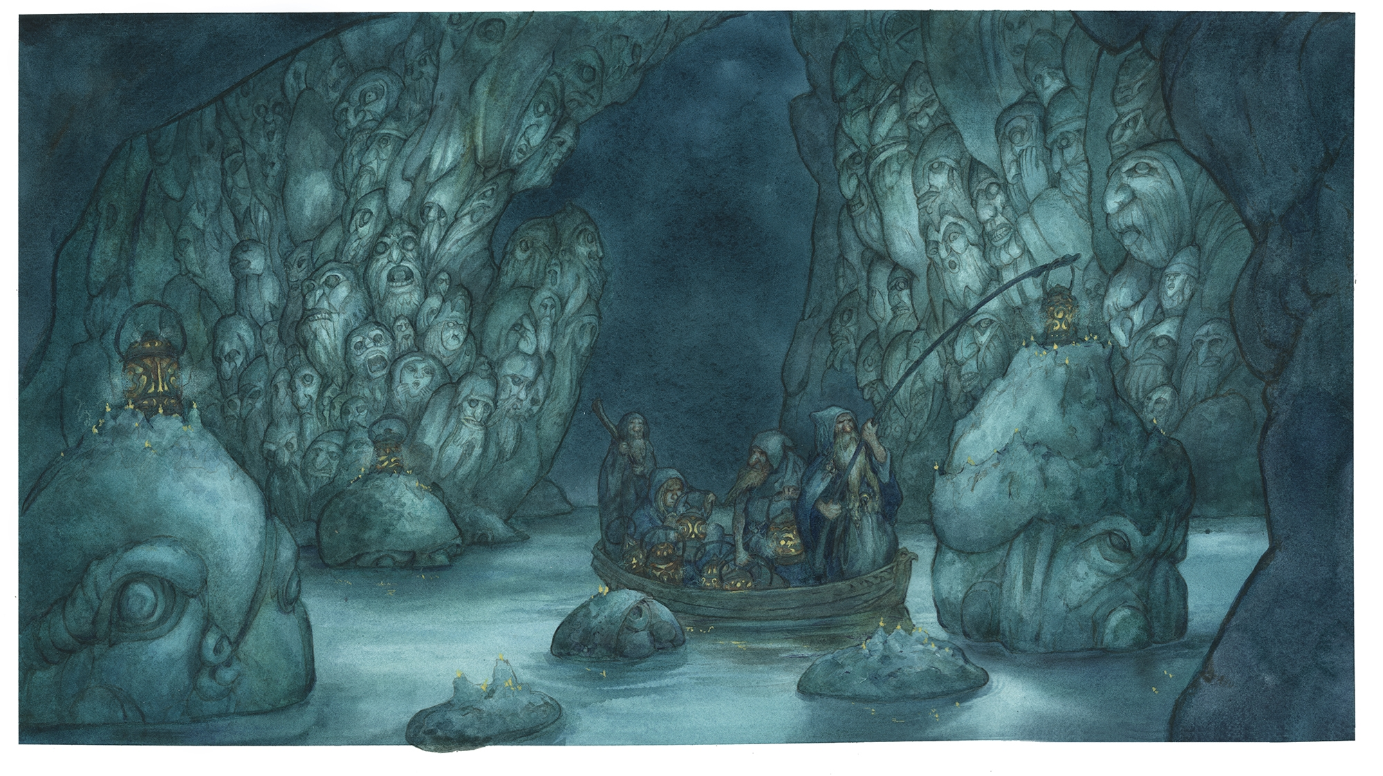 Grotto of the Ancient Ones, Kingdom of the Dwarfs Comic Art