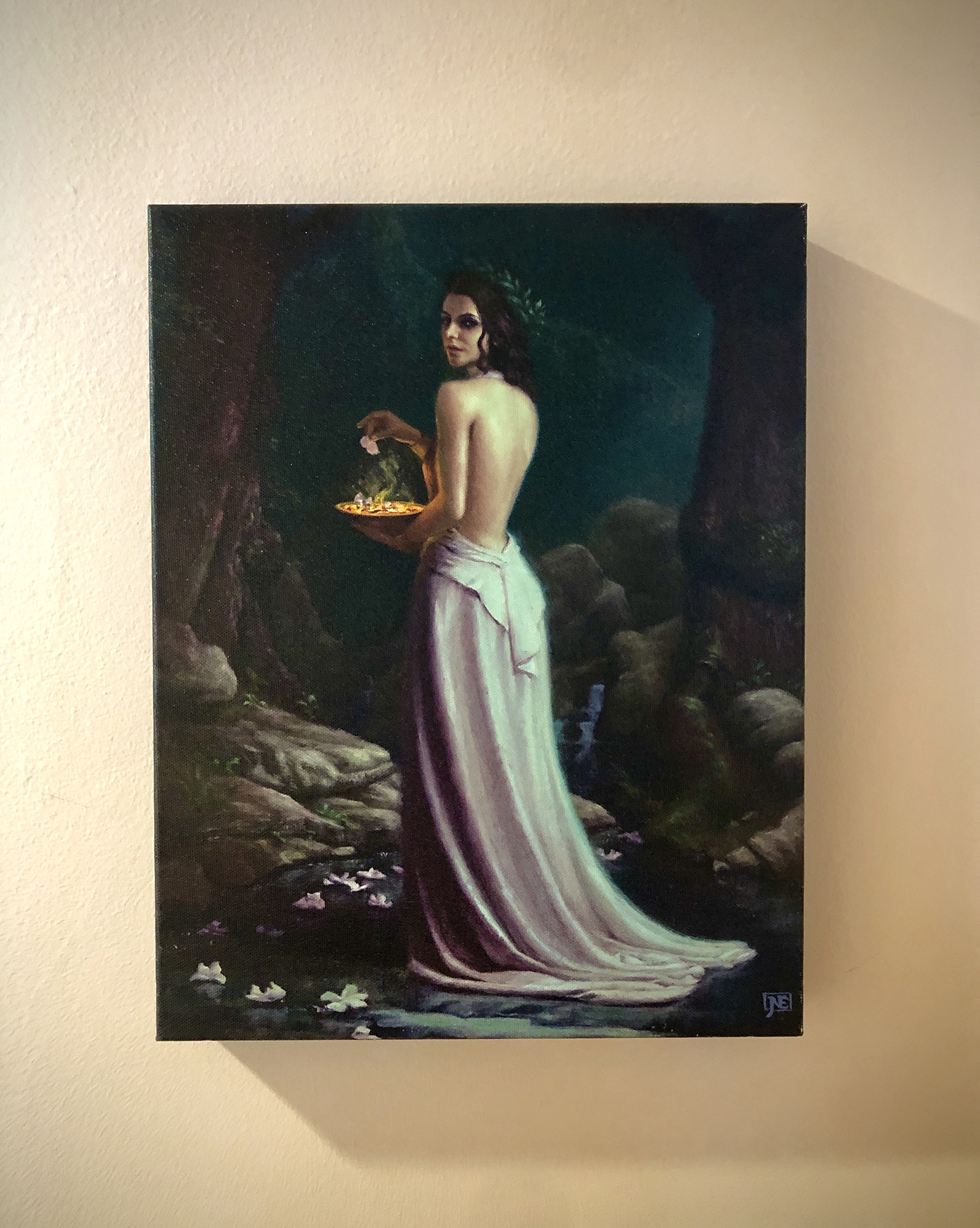 The Oracle Canvas Print Comic Art