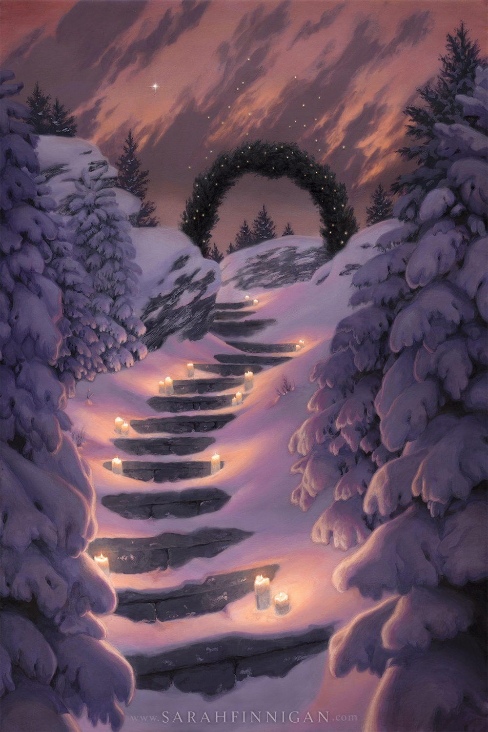 The Warmth of Winter Comic Art