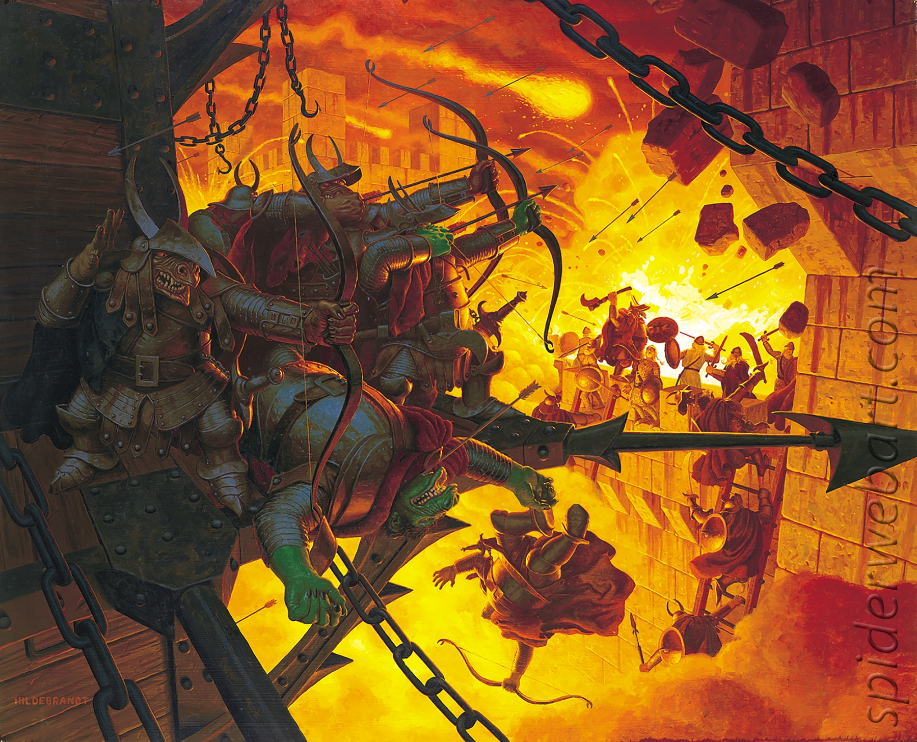Lord of the Rings: The Siege of Minas Tirith Comic Art
